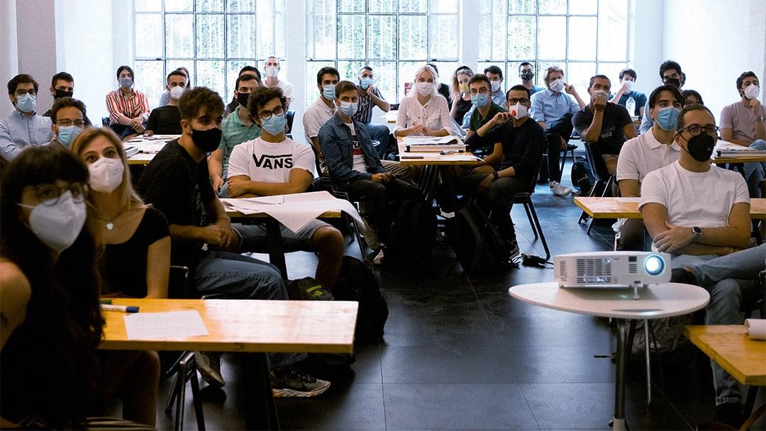 Partecipanti al bootcamp SEI Inventor autunno 2020